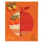 """Набор из 2х полотенец кухонных """"Апельсин"""" 45х70"""